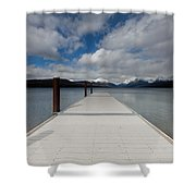 End Of The Dock Shower Curtain