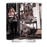End Of The Month Hustle Shower Curtain