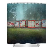 End Of The Show Shower Curtain