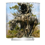 End Of The Trail 2 Shower Curtain