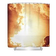 End Of The World? Shower Curtain