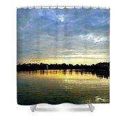 Edinboro Lake Shower Curtain