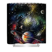 Endless Beauty Of The Universe Shower Curtain