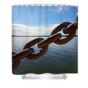 Endless Chain Of Hope  Shower Curtain