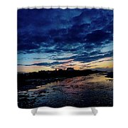 Endless Nights  Shower Curtain