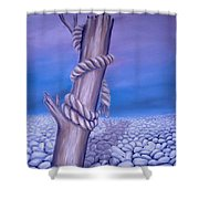 Endless Stillness Shower Curtain