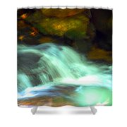 Endless Water Shower Curtain