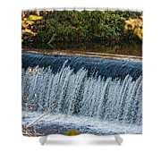 Endlessly Falling Shower Curtain