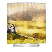 Enduring Courage - Panoramic Shower Curtain