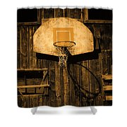 Enduring Echoes Shower Curtain
