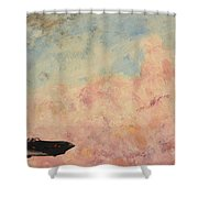 Enemy Of Nature Shower Curtain