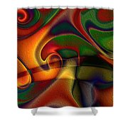 Energetic Shower Curtain