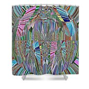Energy 2 Shower Curtain