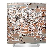 Energy Dance Shower Curtain