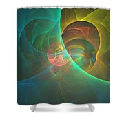 Energy Of The Good Shower Curtain
