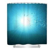 Energy Portal Shower Curtain