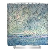 Energy Series #1 Shower Curtain