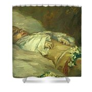 Enfant Mort Detail 1881 Shower Curtain