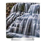 Lower Falls #4 Shower Curtain