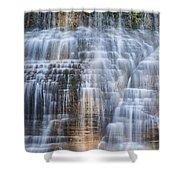 Lower Falls Cascade #1 Shower Curtain