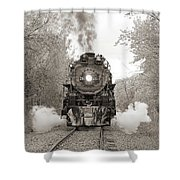 Engine 261 Shower Curtain