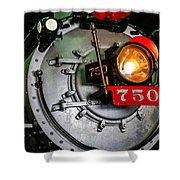 Engine 750 Shower Curtain