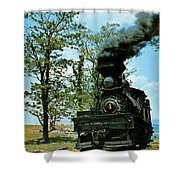 Engine Number 4 Shower Curtain