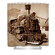 Engine Number 478 Shower Curtain