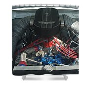 Engine Two Vics Shower Curtain