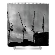 Engineering In London Shower Curtain
