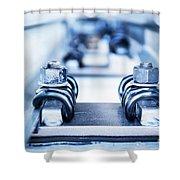 Engineering Metal Parts Shower Curtain