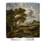 England 19th Shower Curtain
