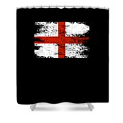 England Gift Country Flag Patriotic Travel Shirt Europe Light Shower Curtain