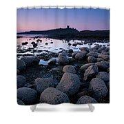 England, Northumberland, Embleton Bay. Shower Curtain