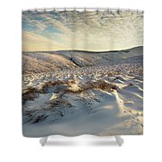 England, Northumberland, Harthope Valley Shower Curtain