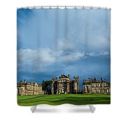 England, Northumberland, Seaton Delaval Hall Shower Curtain