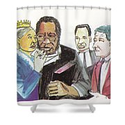 England Queen With Ajayi Crowther Shower Curtain