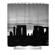 England: Stonehenge Shower Curtain