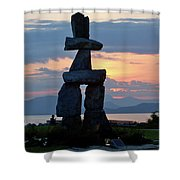 English Bay Vancouver Shower Curtain