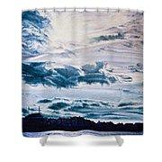 English Beach Shower Curtain