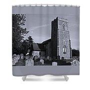 English Churchyard Shower Curtain