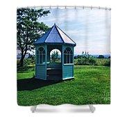English Country Garden Shower Curtain