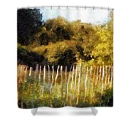 English Pastorale Shower Curtain