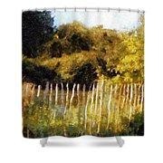 English Pastorale Shower Curtain