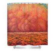 Engulfing Winds Shower Curtain