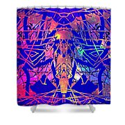 Enigma In Abstraction Shower Curtain