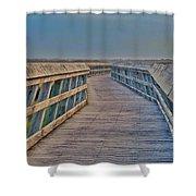 Enjoy Your Walk Shower Curtain