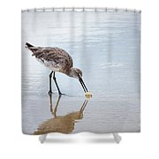 Enjoying A Meal Shower Curtain by Todd Blanchard