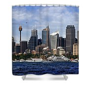 Enjoying Australian Day On The Water Shower Curtain