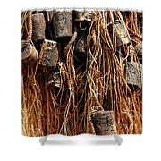Enkhuizen Fishing Nets Shower Curtain